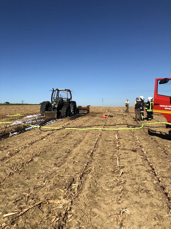 Brandeinsatz vom 17.10.2017     (C) Feuerwehr Wolfsegg (2017)